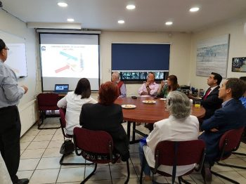 Visita alcalde Ilustre Municipalidad de Santiago